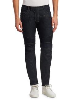 Balmain Skinny-Fit Biker Jeans