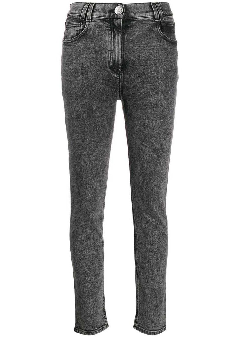 Balmain skinny fit high-rise jeans