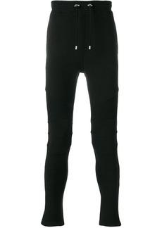 Balmain slim biker track pants