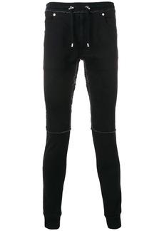 Balmain slim denim lounge trousers
