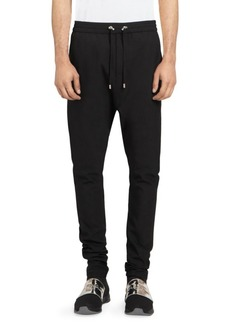 Balmain Slim Wool Sweat Pants