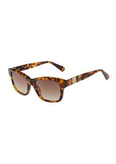 Balmain Square Acetate Sunglasses