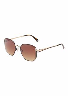 Balmain Square Metal Sunglasses
