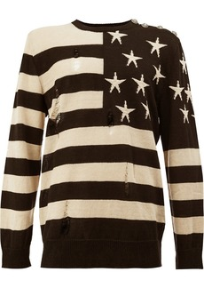 Balmain stars and stripes jumper