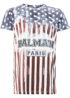 Balmain stars and stripes T-shirt