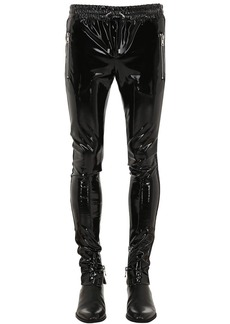 Balmain Stretch Vinyl Pants