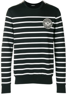 Balmain striped mariniere sweater