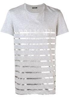 Balmain striped T-shirt