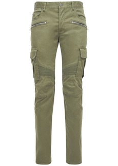 Balmain Tapered Cotton Cargo Pants