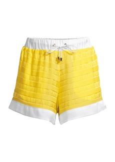 Balmain Tonal Logo Shorts