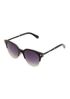 Balmain Two-Tone Cat-Eye Sunglasses