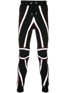 Balmain Union Jack track pants