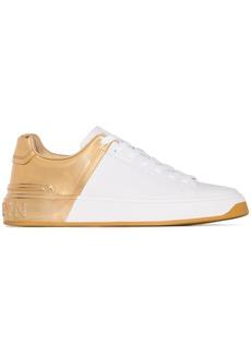Balmain B-Court two-toned sneakers