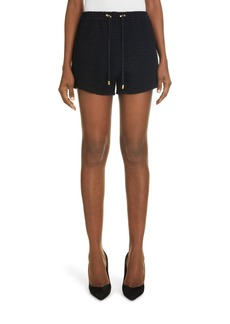 Women's Balmain Monogram Jacquard Shorts