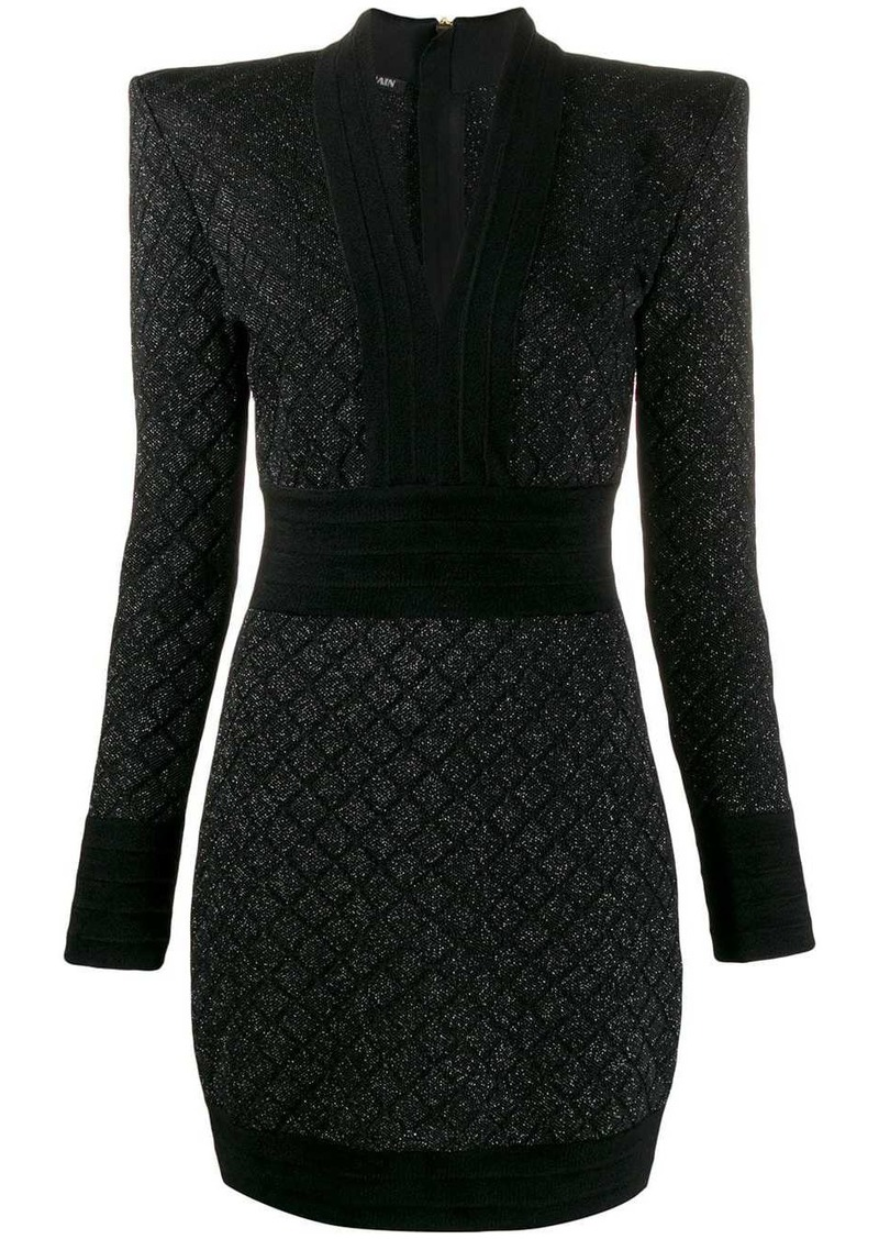 Balmain woven mini dress