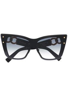 Balmain x Akoni chain-arm sunglasses