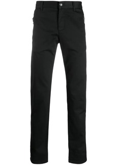 Balmain zipped slim-fit jeans