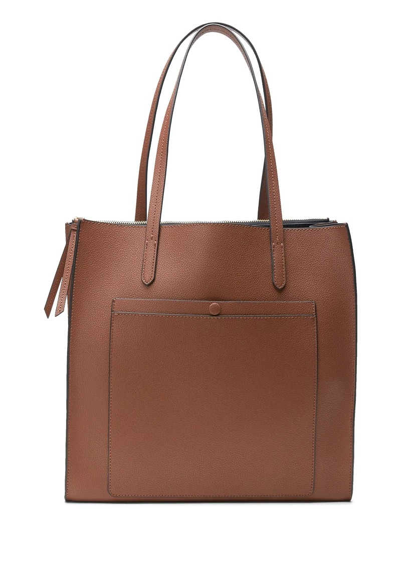 Banana Republic 12-Hour Leather Large Tote