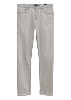 Banana Republic Straight Rapid Movement Denim Gray Wash Jean