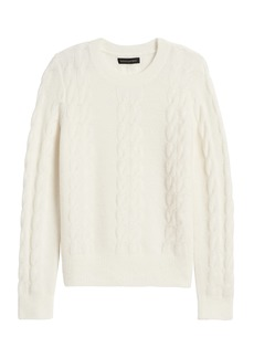 Banana Republic Aire Cable-Knit Sweater