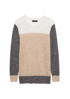 Banana Republic Aire Color-Block Crew-Neck Sweater
