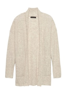 Banana Republic Aire Long Open Cardigan