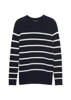 Banana Republic Aire Stripe Crew-Neck Sweater