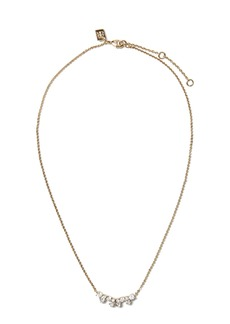 Banana Republic Aligned Marquise Pendant Necklace