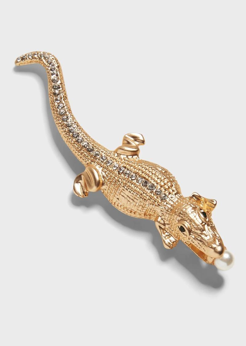 Banana Republic Alligator Brooch