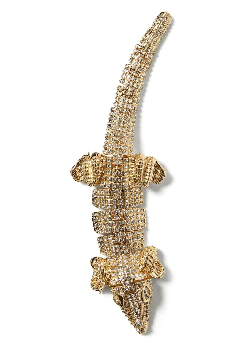 Banana Republic Alligator Brooch