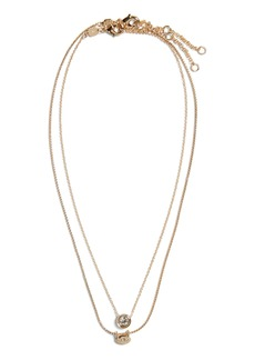Banana Republic Almost Invisible Gem Necklace