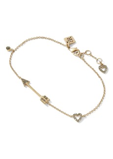 Banana Republic Arrow & Heart Bracelet