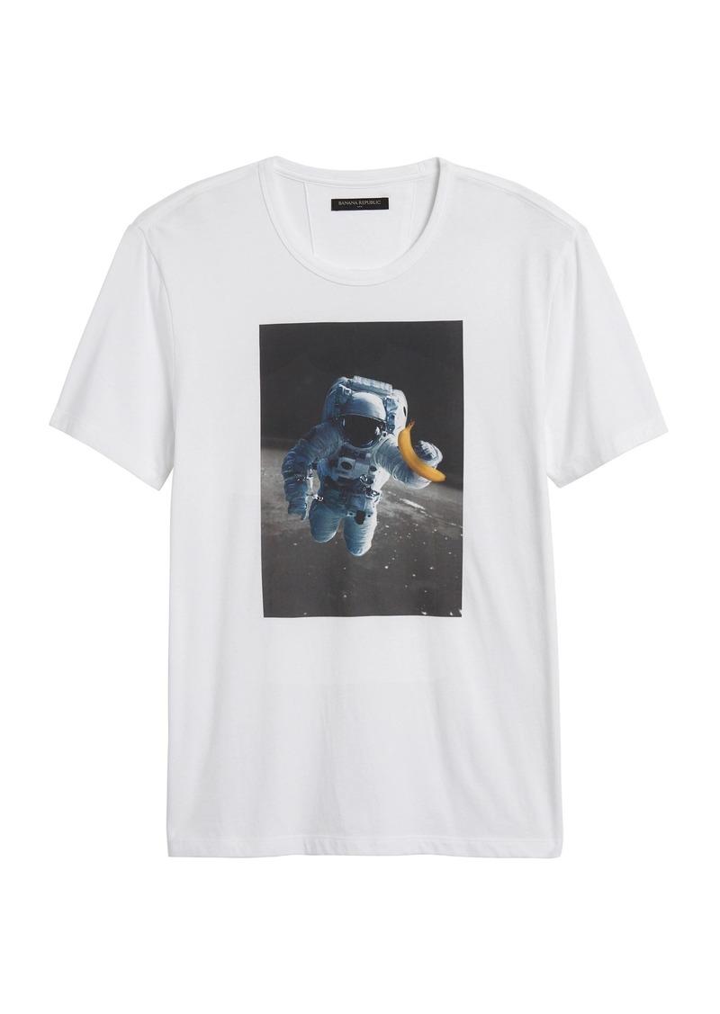 Banana Republic Astronaut Graphic T-Shirt