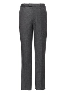 Banana Republic Athletic Tapered Flannel Dress Pant