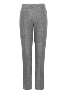 Banana Republic Athletic Tapered Linen Suit Pant
