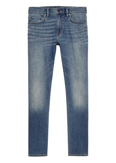 Banana Republic Athletic Tapered Rapid Movement Denim Jean