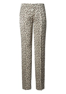 Banana Republic Avery Ankle-Fit Animal-Print Pant