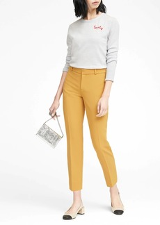 Banana Republic Avery Straight-Fit Ankle Pant