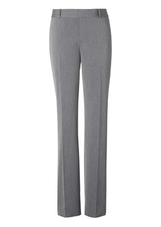 Banana Republic Avery Straight-Fit Heathered Ankle Pant