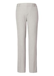 Banana Republic Avery Straight-Fit Machine-Washable Birdseye Ankle Pant
