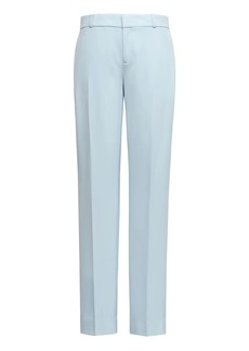 Banana Republic Avery Straight-Fit Washable Italian Wool-Blend Ankle Pant