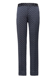 Banana Republic Avery Straight-Fit Print Ankle Pant
