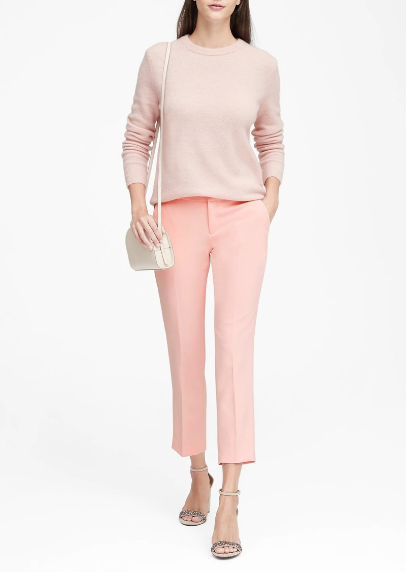 4f7508af31f5c Banana Republic Avery Straight-Fit Solid Ankle Pant