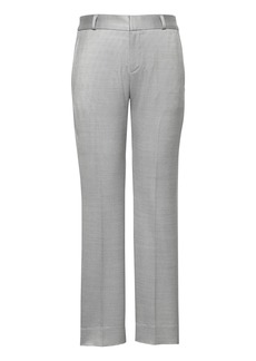 Banana Republic Avery Straight-Fit Wool-Blend Ankle Pant