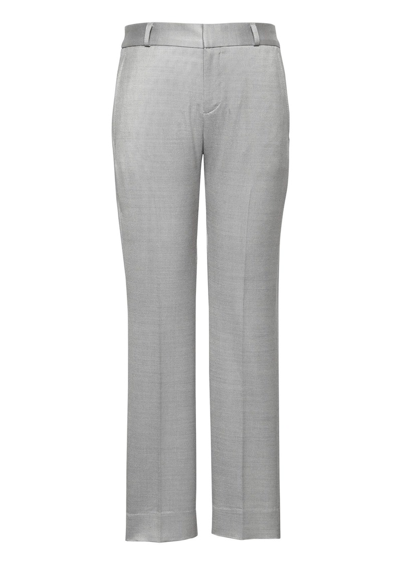 662fe7dc4f8cf Banana Republic Avery Straight-Fit Wool-Blend Ankle Pant