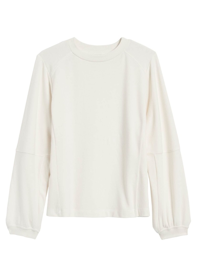 Banana Republic Balloon-Sleeve Sweatshirt