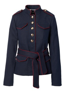 Banana Republic x Olivia Palermo | Belted Military Jacket