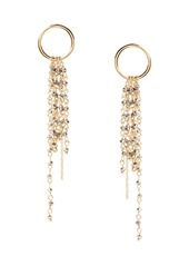 Banana Republic Beaded Fringe Earrings