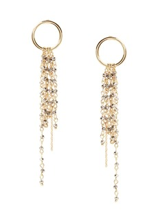 Banana Republic Beaded Fringe Earring