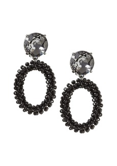 Banana Republic Beaded Link Clip-On Drop Earring